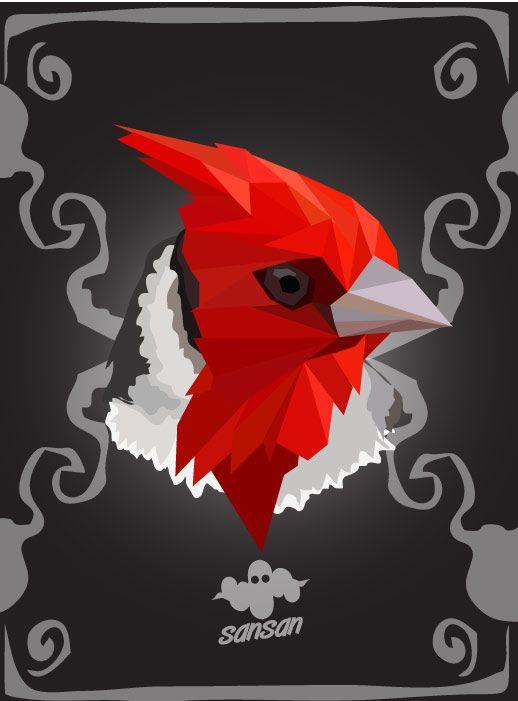 illustration | Concept | Digital Art | Vector | Bird