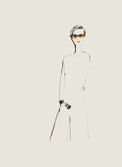 so chic - bernadette pascua fashion illustrations via ruby PR blog