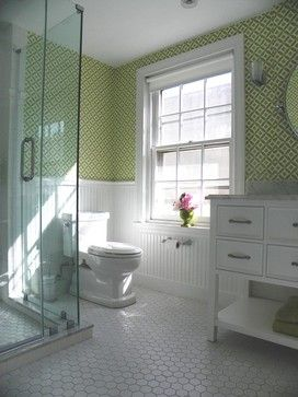 Girl 39 s bathoom vintage style traditional bathroom for Bathroom design leeds