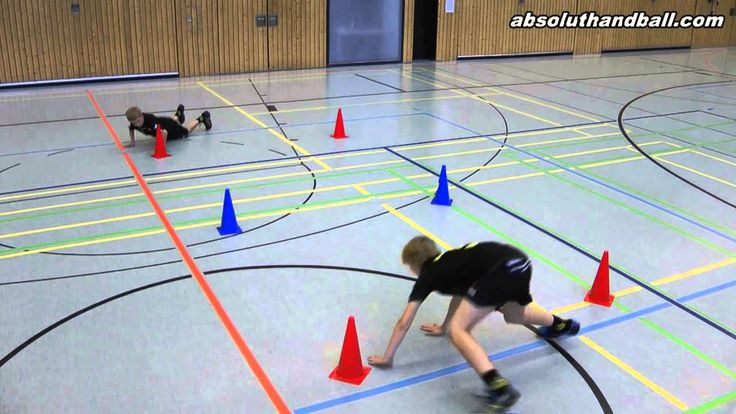 Speed training with cone´s