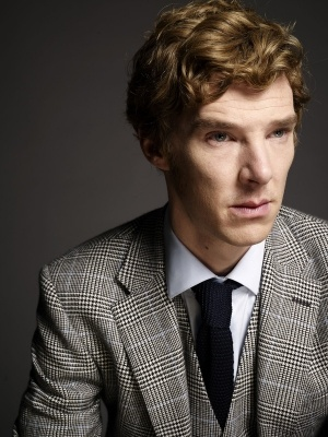 Benedict Cumberbatch as Sherlock. Delicious on so many levels.