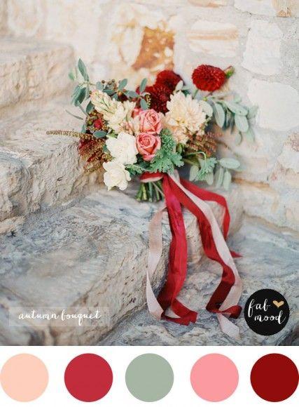 Fall Purple Wedding BouquetAutumn Bouquet