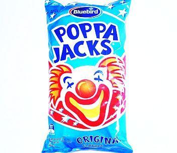 Bluebird Poppa Jacks 100g, AU$3.30 per bag plus postage from Kiwi Shop Online (price correct as at 18.09.17)