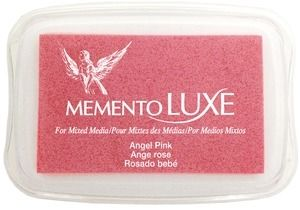 Memento Luxe ANGEL PINK Ink Pad Tsukineko ML-404