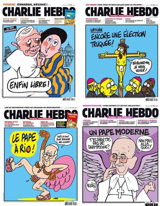 « Nous sommes Charlie »L'article de cette revue Jésuite prouve qu'on peut avoir la foi ET de l'humour ... Exactement le propos que je relaie ici : http://blog.scommc.fr/la-moquerie-est-elle-un-probleme-avec-un-peu-de-jesuischarlie-dedans/