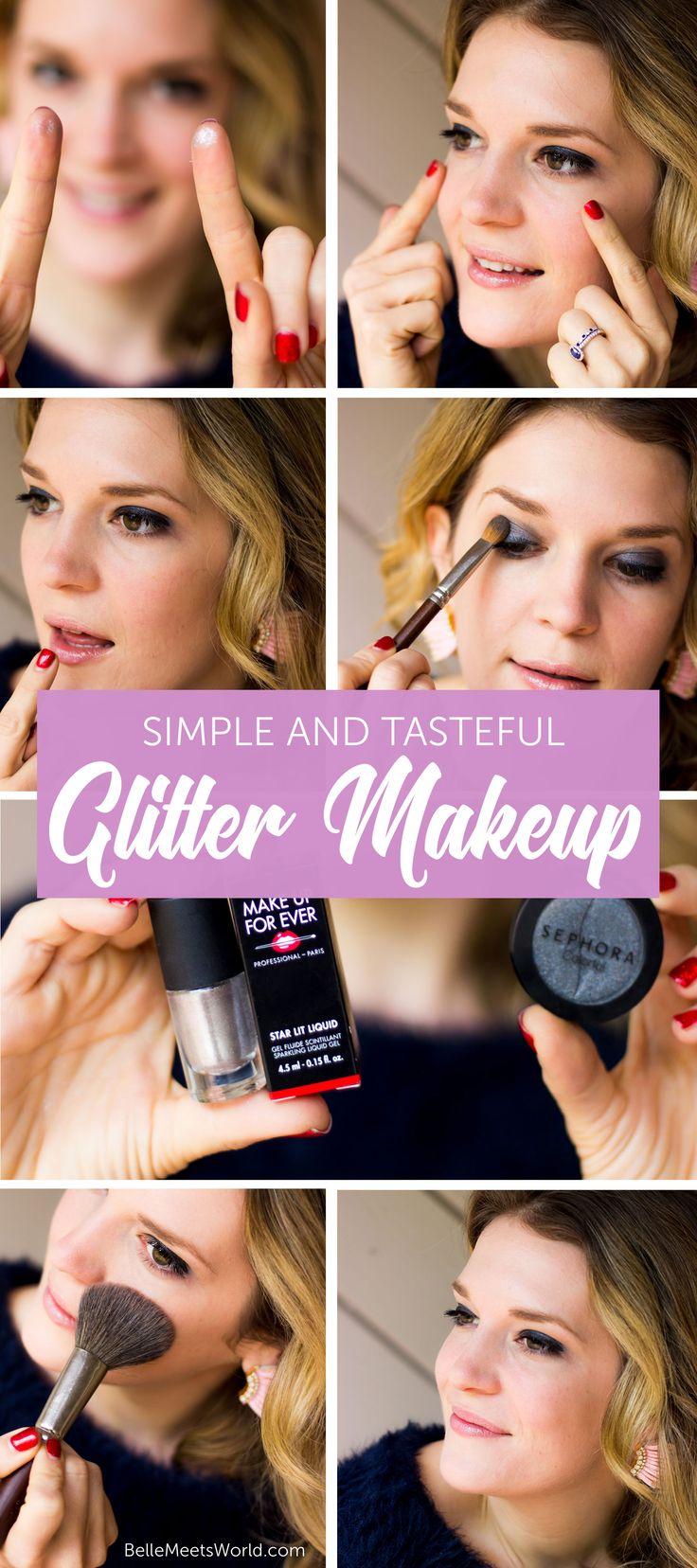 best 25 glitter makeup tutorial ideas on pinterest