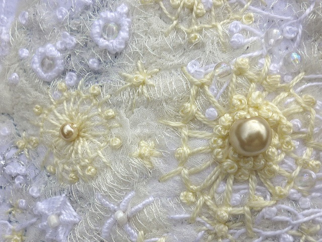 embroideryFlickr, Beads Embroidery, So Embroidery, Needlepoint Embroidery, White Embroidery, Embroidery Quilt, Stitches, Photos Shared, Embroidery Art