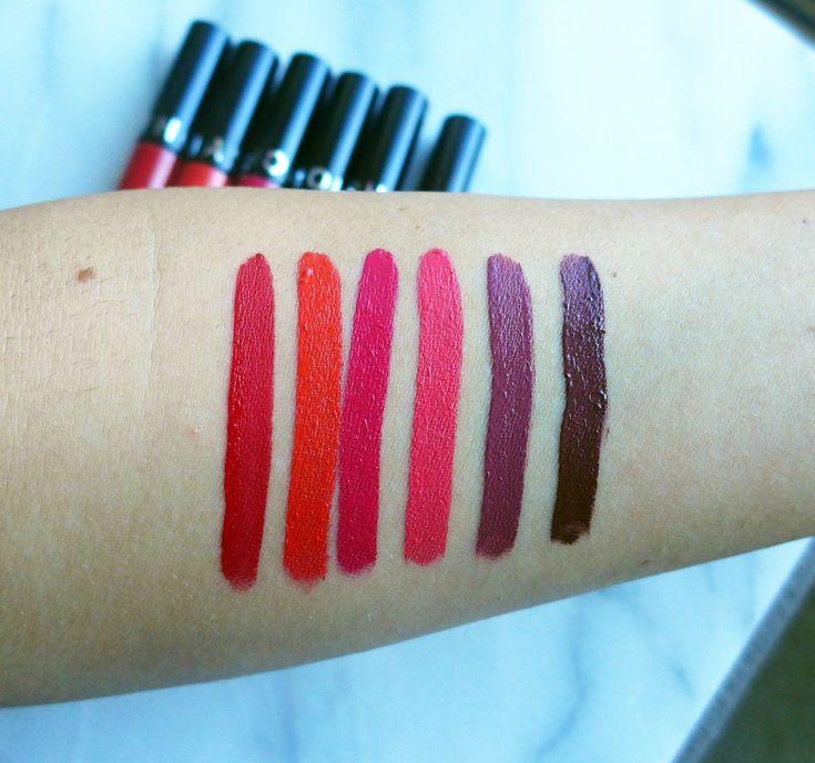 Sephora Cream Lip Stain Swatches
