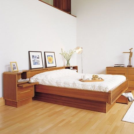 Bennett Queen Storage Bed Modern Bedroom Furniture