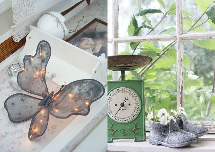 Paverpol -kovetusaineella upeita koristeita ja kukkaruukkuja puutarhaan! Hyödynnä vanhat lastenvaatteet ja kengät.