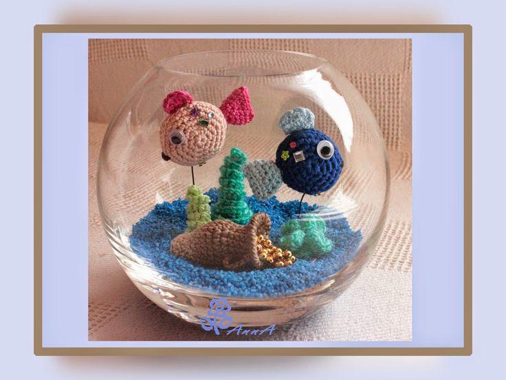 AnnA´s Kreativ Blog: Aquarium