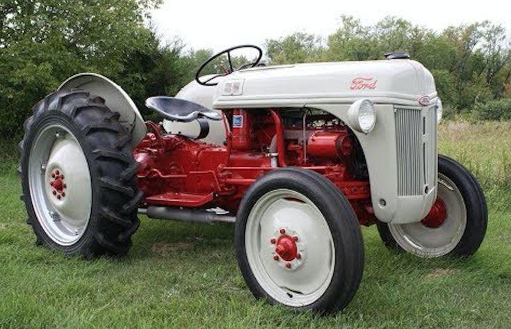 Pin by Bryan Wood on FORD 8N,9N ,2n TRACTORS | Tractors ...