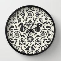 © www.patternpenny.com Wall Clocks by Pattern Penny | Society6