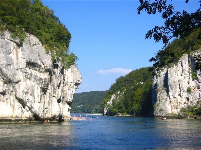 Donaudurchbruch - Weltenburger Enge in der Nähe von #Kehlheim