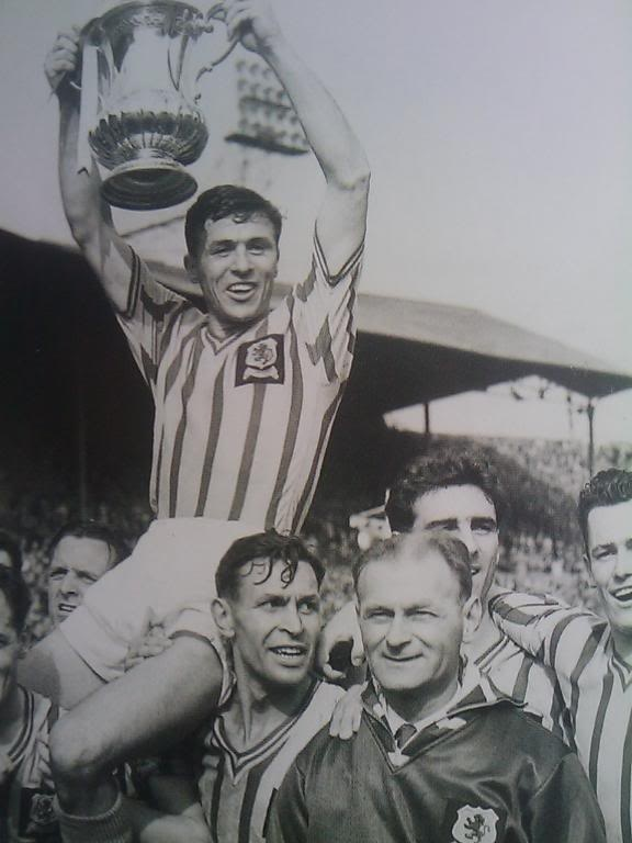 Aston Villa 2 - 1 Manchester United  1957 FA Cup Final. Those were the days my friend!