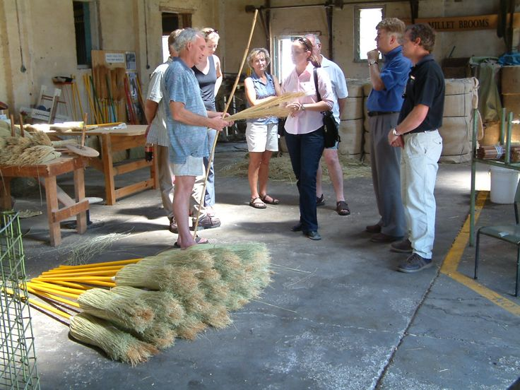Visit the Tumut Broom Factory. One of the last producers of millet brooms in Australia
