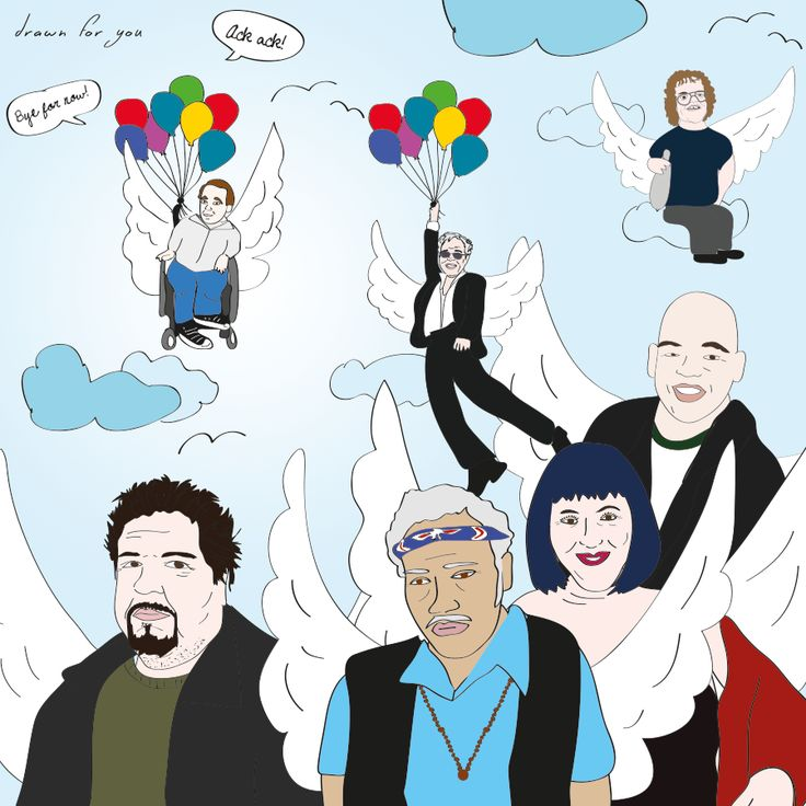 Wack pack angels surround us, even the newest one, Joey Boots