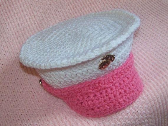 Crochet Baby Marine Hat Pattern : Oltre 1000 immagini su Crochet su Pinterest Motivo ...
