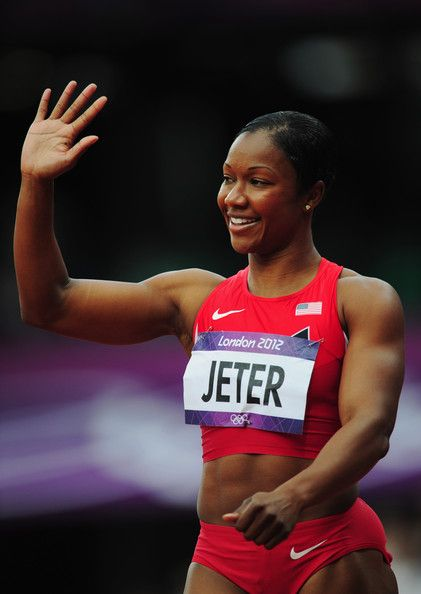 Carmelita Jeter. Inspiration for fitness and general BAMF iness.