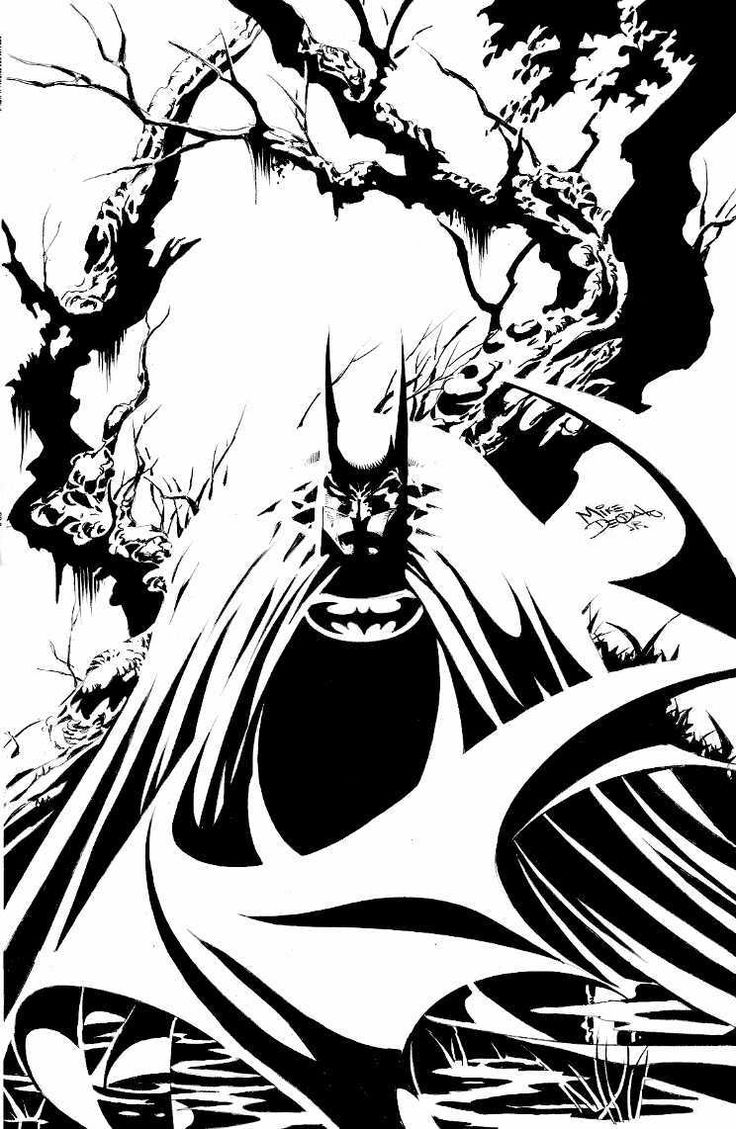 Batman by Mike Deodato Jr.