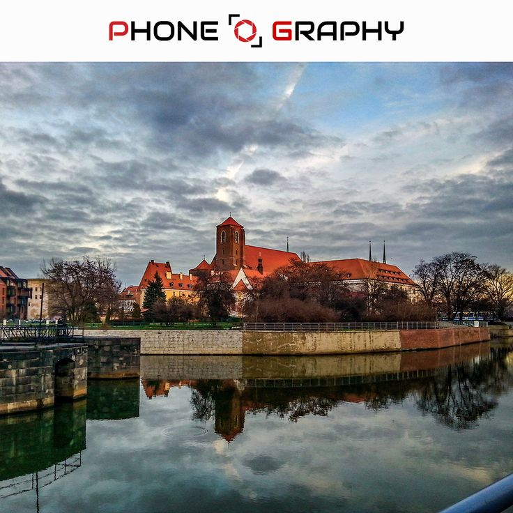 Cathedral of Saint Jan Chrzciciel in Wroclaw Find me on Fotolia / Adobe Stock: 98743649 http://adobe.ly/pog-12  #phoneography #fotolia #instant #adobestock #igers #igerswroclaw #igerspoland #wroclaw #wroclove #miastospotkan #cathedral #katedra #blue #bluesky #orange #water #cloudyday #clouds #saturated #hdr #12