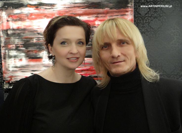 Magdalena Woźniak i Piotr Krajewski