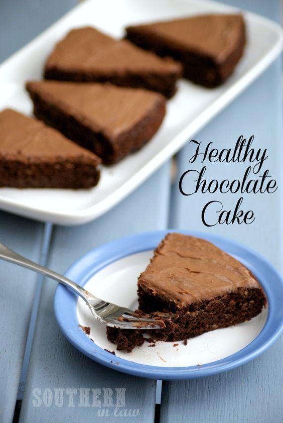 Eine gesunde Schokolade Kuchen, das nicht aussieht, Geschmack und gesund fühlen überhaupt? Vertrauen Sie mir, dieses Rezept ein Favorit unter Ihrer Familie werden