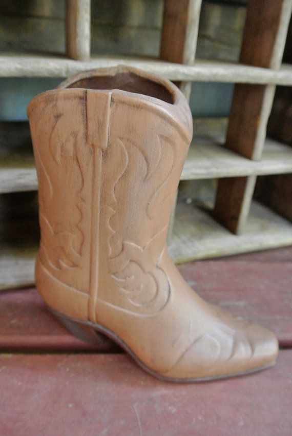 17 Best images about Cowboy Boot vase on Pinterest