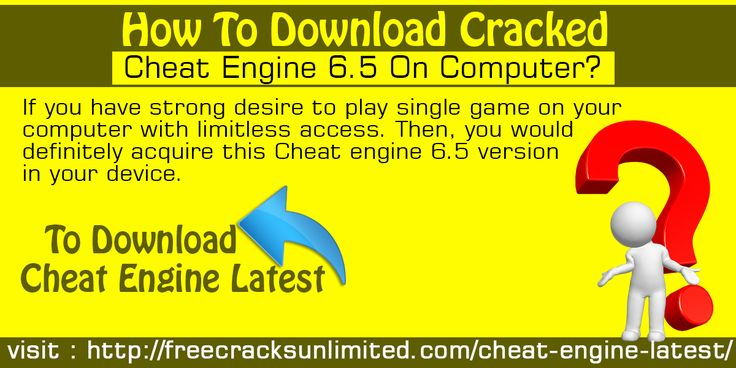 If you have strong desire to play single game on your computer with limitless access. Then, you would definitely acquire this Cheat engine 6.5 version in your device.