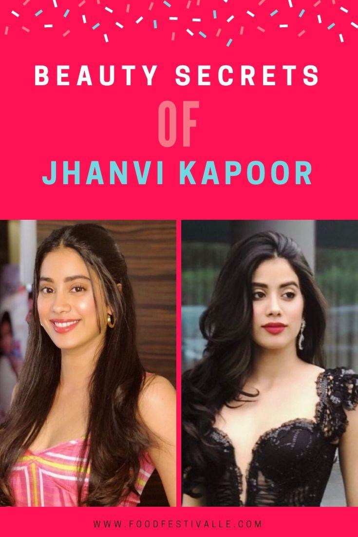 Jhanvi Kapoor Beauty Secrets, Makeup, Hair Care, Diet Plan and