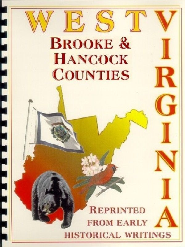 BROOKE/HANCOCK COUNTY WV~BETHANY COLLEGE~WELLSBURG WEST VIRGINIA~HISTORY/BIOS