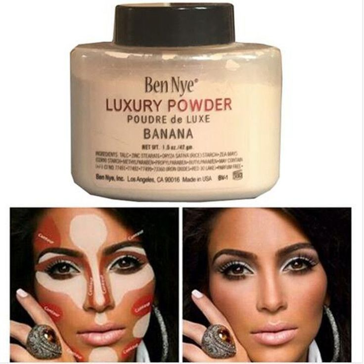 Ben Nye Banana Powder 42g Bottle Luxury Powder