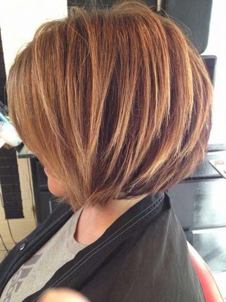 Bild Für Bob Frisuren Hinten Gestuft Frizura Hair Styles Hair
