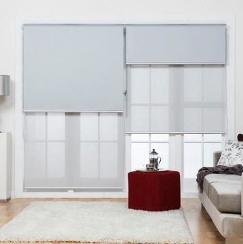 Cortinas blackout dobles salita
