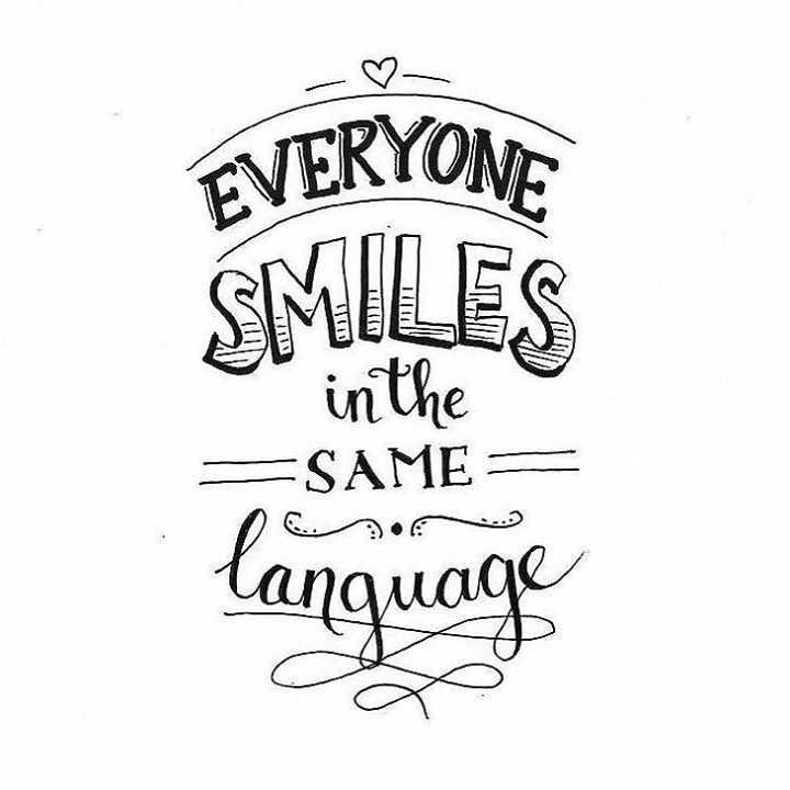 Smile and spread some smiles today.  #beautifulthoughts #dailyinspiration #inspiration