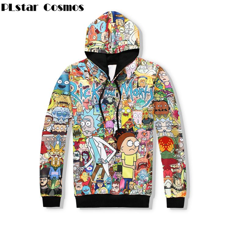 Superior Quality Men/Women 3D Classic Cartoon Rick and Morty Hoodie //Price: $32.45 & FREE Shipping //     3dtshirt