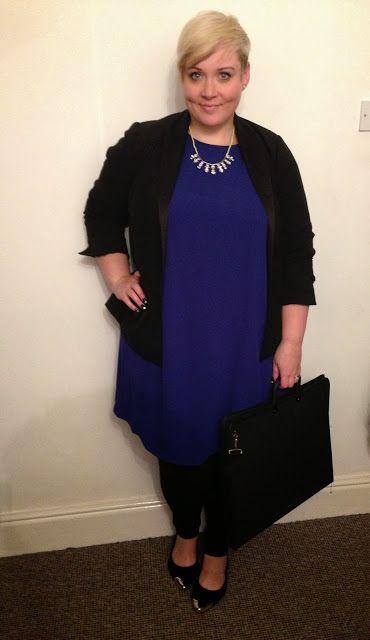 The Ramblings of Mrs BeBe: Party Dress Test - One Dress, Three ways - Plus size fashion