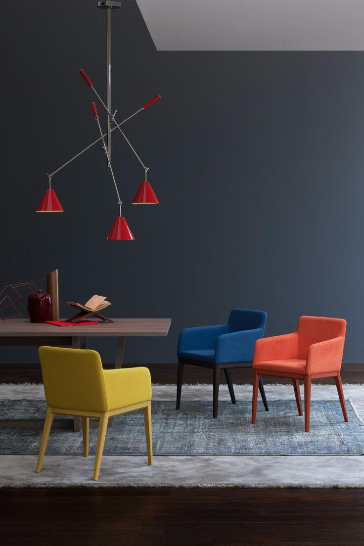 2018 COLOR TRENDS: RED SCARLET BY PANTONE IS ON OUR RADAR! #modernlighting #contemporarylighting  #modernhomedecor #interiordesignideas #interiordesignproject #homedesignideas #midcenturystyle #moderndesign