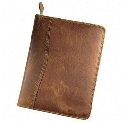 Day-Timer 80844 Aviator Cowhide Leather Zippered Organizer Starter Set, Undated, 5-1/2 x 8-1/2, Dark Tan Personal Organizer Starter Set, Aviator Distressed Cowhide Leather Binder.. Write in it, carry it with you, watch details fall into place.. Looseleaf pages.. Add a Special Personal Touch! Personalize your new binder or wallet with a custom-engraved brass plate.. Includes handy reference pages... #Day-Timer #Office_Product