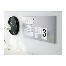IKEA - SPONTAN, Magnetic board, , Can be hung horizontally or vertically.