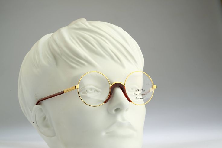 Benetton Class collection / Vintage eyeglasses / NOS / 90s designer eyeglasses by CarettaVintage on Etsy
