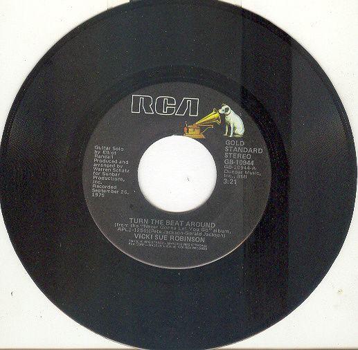 VICKI SUE ROBINSON 45 rpm Turn The Beat Around b/w Daylight