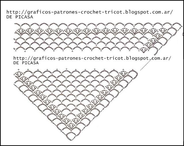 801 best Crochet: Patrones, esquemas, tutoriales images on Pinterest ...