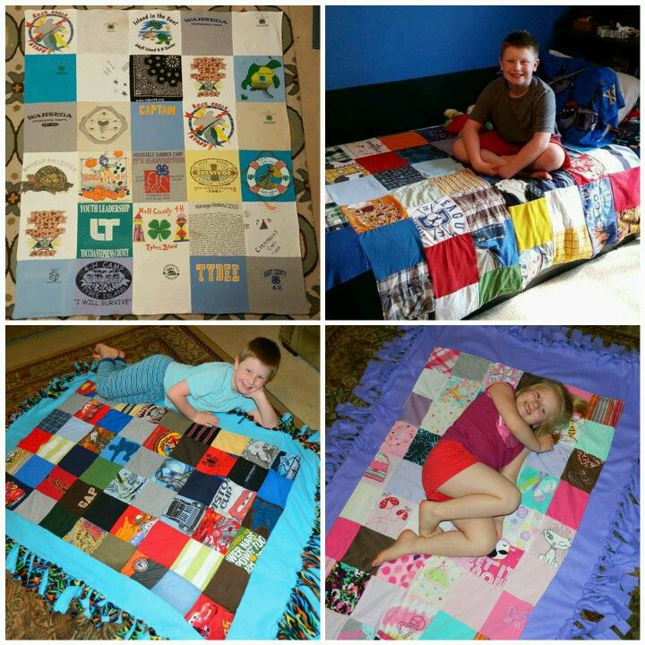 """GRADUATION"" is just around the corner! Get those piles of t-shirts together! (cheer, gymnastics, dance, theatre, voice, baseball, soccer, track...) College, high school, middle school, elementary, and even those babies in PreK!  More exciting orders are being placed and I am so blessed to be a part of your memories! #memoryblankets"
