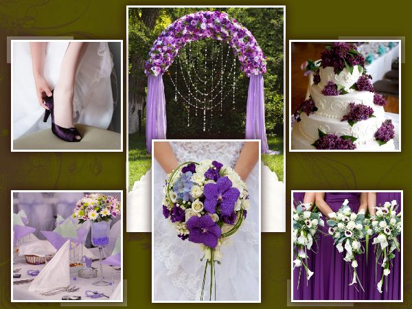 Green And Purple Wedding Theme Awesome Rustic Mason Jar Designed
