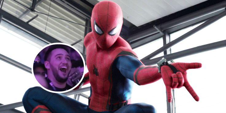 Spider-Man: Homecoming: Mira la reacción del público al ver el tráiler de la película