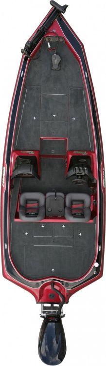 New 2012 Blazer Boats 210 Pro-V Bass Boat - Bird's Eye View.