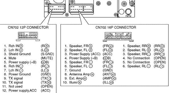 Toyota Car Radio Stereo Audio Wiring, Wiring Diagram Toyota Vios