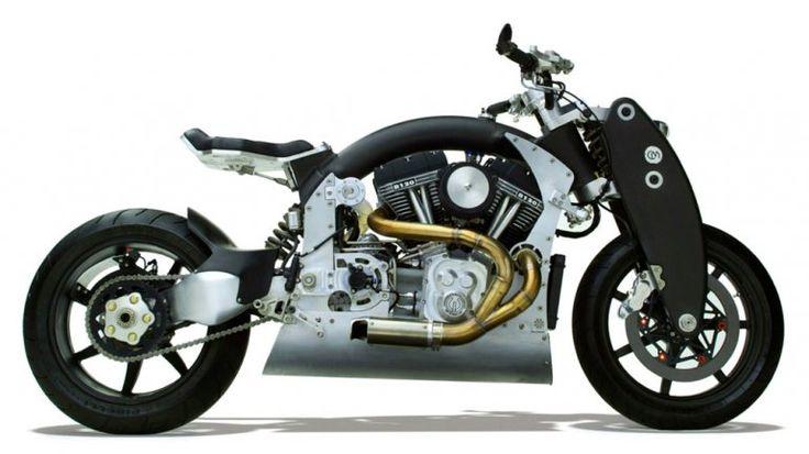 Confederate X132 Hellcat: una moto da combattimento