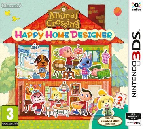 Kjøp Animal Crossing: Happy Home Designer (Inc amiibo card) på CDON.COM. Lave priser og rask levering.
